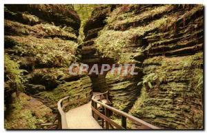 Moderne Karte Moss Chamber In Cold Water Canyon Wiconsin Dells