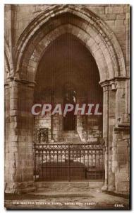 Ansichtskarte AK Sir Walter Soott's Tomb Dayburch Abbey Irlande