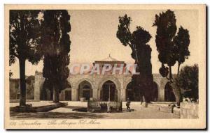 Ansichtskarte AK Jerusalem The mosquee El Aksa