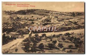 Ansichtskarte AK Jerusalem Mont Des Oliviers