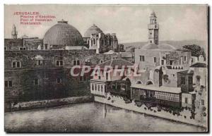 Ansichtskarte AK Jerusalem Plscine D'Ezechlas