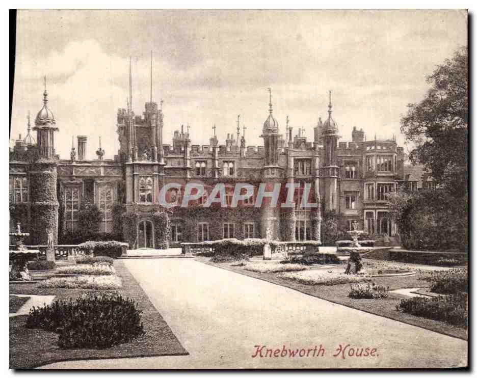 Ansichtskarte AK Knebworth House 0
