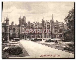 Ansichtskarte AK Knebworth House
