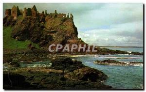 Moderne Karte Dunluce Castle Antrim