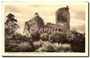 Ansichtskarte AK Barr La Ruine Du Landsberg