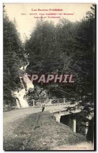 Ansichtskarte AK Les Hautes Pyrenees Gripp Pres Bagneres De Bigorre Cascade Du Tourmalet
