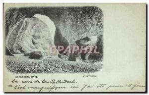 Ansichtskarte AK Cathedral Cave Portrush