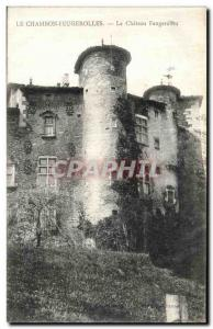 Ansichtskarte AK Le Chambon Feugerolles Le Chateau Feugerolles