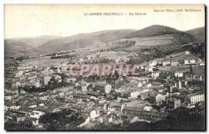Ansichtskarte AK Le Chambon Feugerolles Vue Generale