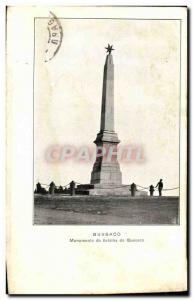 Ansichtskarte AK Bussaco Monumento da Batalha do Bussaco