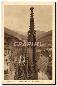 Ansichtskarte AK Thann Le Chapiteau de la Cathedrale