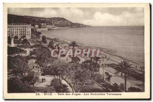 Ansichtskarte AK Nice Baie des Anges Les Nouvelles Terrasses