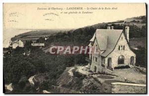 Ansichtskarte AK Environs de Cherbourg Landemer Le Chalet de la Roche Airel et vue generale de Landemer