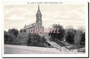 Ansichtskarte AK St Mary s Church Port Washington