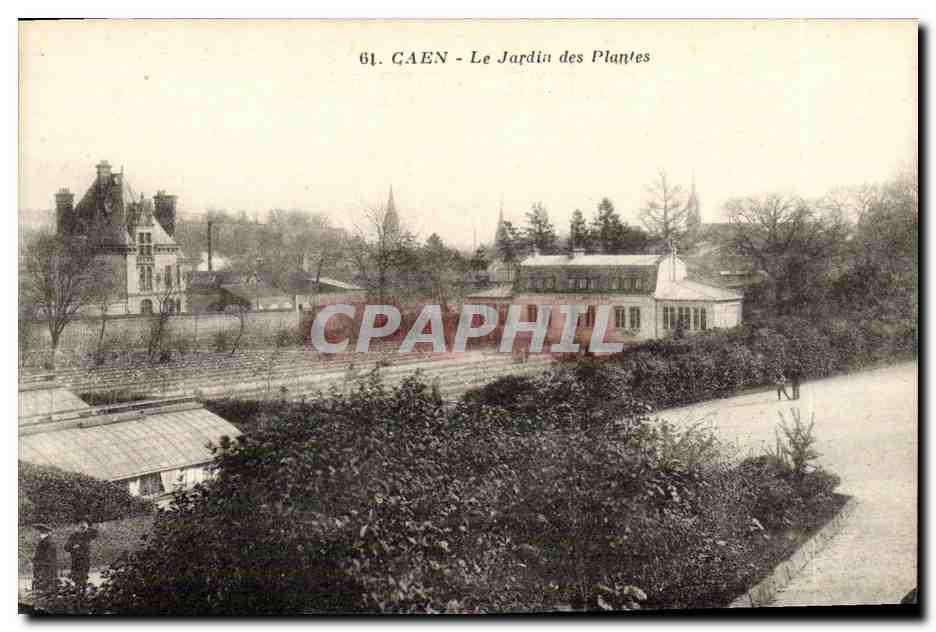 Ansichtskarte AK Caen Le Jardin des Plantes Nr. OWG33 ...