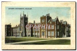 Ansichtskarte AK Queen s University Belfast