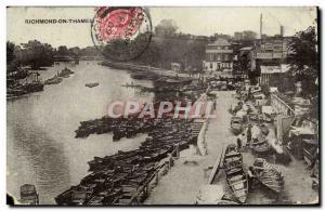 Ansichtskarte AK Richmond on Thames Bateaux