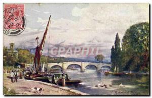 Ansichtskarte AK Richmond Bridge