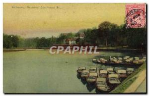 Ansichtskarte AK Richmond Messums Boathouse