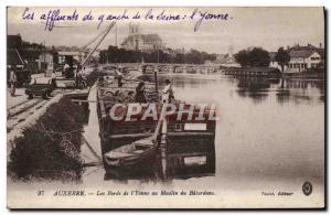 Ansichtskarte AK Auxerre Les Bords de L'Yonne Au Moulin de Batardeau