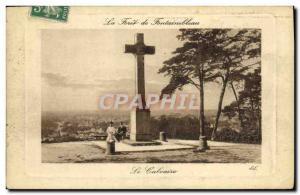 Ansichtskarte AK La Foret De Fontainebleau Le Calvaire