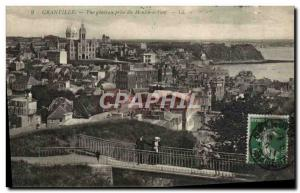 Ansichtskarte AK Granville Vue Generale prise du Moulin a Vent