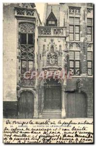 Ansichtskarte AK Bruges La Porte De La Bibliotheque