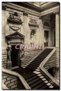 Moderne Karte Bordeaux Le Grand Theatre Construit Sous Le Regne De Louis XIV L'escalier central