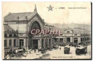 Ansichtskarte AK Liege Gare Des Guillemins