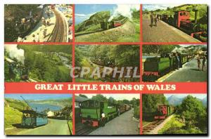 Moderne Karte Great Little Trains Of Wales