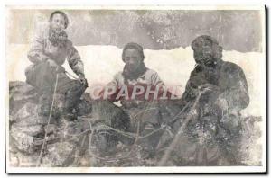 CARTE PHOTO Alpinistes