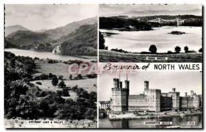 Moderne Karte North Wales
