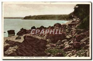 Ansichtskarte AK Priory Bay And Rocks Seaview