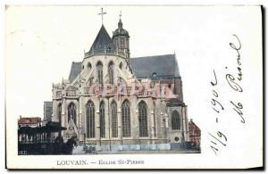 Ansichtskarte AK Louvain Eglise St Pierre