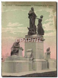 Ansichtskarte AK Liege Monument Gramme Inventeur De La Dynamo