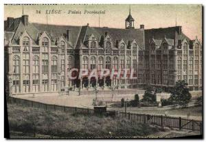 Ansichtskarte AK Liege Palais Provincial