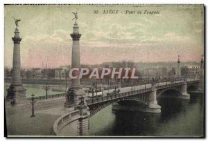 Ansichtskarte AK Liege Pont De Fragnee