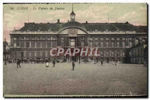 Ansichtskarte AK Liege Le Palais De Justice
