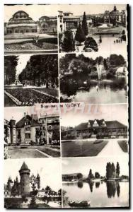 Moderne Karte Vichy Casino Place de l'hotel de ville Parc du casino Bassin Hotel Sevigne Golf