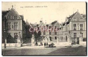 Ansichtskarte AK Orleans L'Hotel de Ville