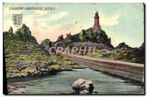 Ansichtskarte AK Corbiere Lighthouse Jersey Phare