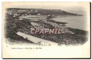 Ansichtskarte AK Jersey Rozel Bay
