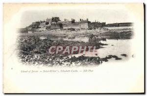 Ansichtskarte AK Jersey Saint Helier Elisaheth Castle