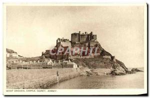 Ansichtskarte AK Jersey Mont Orgueil Castle Gorey