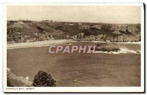 Ansichtskarte AK Portelet Bay Jersey