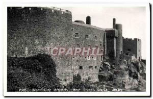 Ansichtskarte AK Residential Quarters Mont Orgueil Castle Jersey