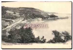Ansichtskarte AK Anne Port & Ste Catherines Breakwater Jersey