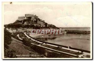 Ansichtskarte AK Mont Orgueil Castel Jersey