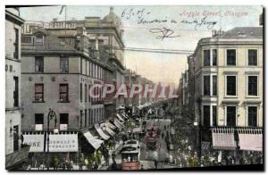 Ansichtskarte AK Argyle Street Glasgow