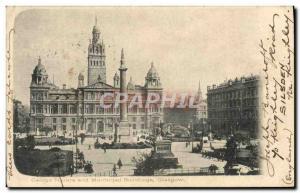 Ansichtskarte AK George Square and Murricipal Buildings Glasgow